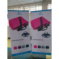 """Best Adjustable X Stand Banners Pvc Film With Grommets Long Life Printed  32"""" X 70"""" wholesale"""