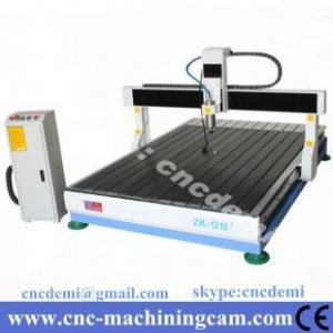 Best desktop wood cnc router cutting mahcine 3D ZK-1218(1200*1800*250mm) wholesale