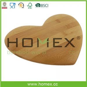 Best Heart-shape bamboo cutting board set/chopping blocks set/HOMEX-FSC/FDA/SGS/LFGB/BSCI wholesale