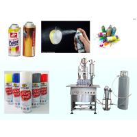 China Clear Coat Spray Paint Spray Paint Can Filling MachineSemi Automatic on sale