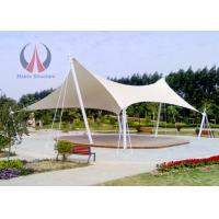 Quality Universal Free Standing Backyard Shade Structures , Outdoor Shade Awnings Landmark Structure wholesale