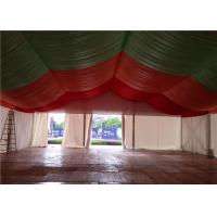 Cheap waterproof canvas roof steel structure canopy party tent for 200