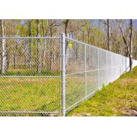 Best Multi PVC Color Driveway Chain Link Fencing With Steel Iron Wire Materials wholesale