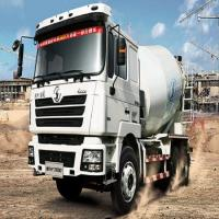 China SHACMAN 6x4 Concrete Mixer Truck 10m3 with Cummins 345hp Engine on sale
