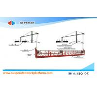 China Safety Rope / Cable Steel Suspended Working Platform ZLP800 With Hoist LTD8.0 on sale