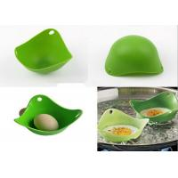 Best Creative Green Kitchen Silicone Egg Poacher / Fried Egg Rings Silicone wholesale