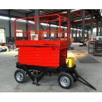 Best Chinese popular 20m Height Mobile Hydraulic Scissor Work Lift Table wholesale