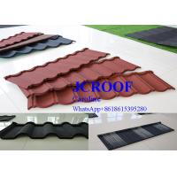Best Durable  cooffe stone Corrugated Metal Roofing Sheets newzealand stone tile wholesale