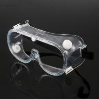 Best Chemical Resistant Eye Protection Goggles , Reliable Fog Proof Safety Glasses wholesale