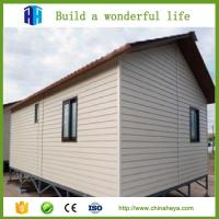 Best low cost steel frame prefab movable sandwich panel house homes wholesale