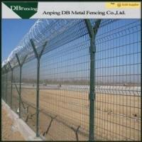 China Low Carbon Steel Wire Welded Metal Fence Panels Corrosion Resistance Anti - Aging on sale