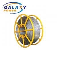 China 18mm Load 200kn Galvanized Anti Twist Steel Wire Rope With 12 Strands on sale