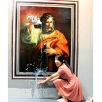 Buy cheap beautiful 3d oil painting for home deoration on canvas from wholesalers