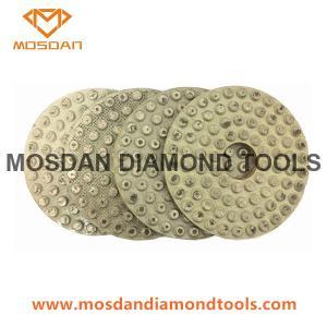 Best 5 Inch Metal Flex DOT Concrete Polishing Pads for Marble Granite wholesale