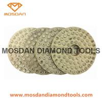 Best Metal Bonded Dots Polishing Pads for Concrete Marble Granite wholesale
