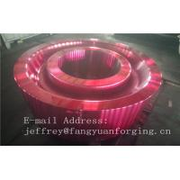 Best ASTM AISI  DIN 36CrNiMo4 JIS SNCM439 Forged Gear Blank Internal Gear RIng Blanks Alloy Steel wholesale