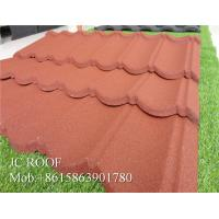 Best Lightful House Shingle Colour Coated Steel Roofing Sheets 1300*420mm Overall Size wholesale