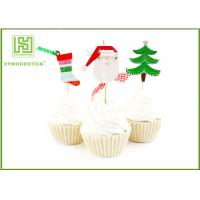 Best Flower Bakery Cake Decoration Toppers With Logo Printed Environmentally Friendly wholesale