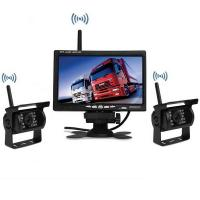 Best 7Inch Monitor Truck wireless dash camera Rear View Camera System with 2 reverse cameras wholesale