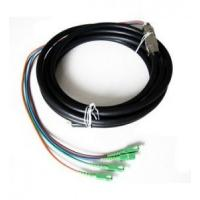 Best Outdoor Waterproof Fiber Optic Pigtail Anti Corrosion Strong Tensile Ability wholesale