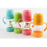 Colorful 240ML Drinking Baby Sipper Water Bottle For Breastfed Babies