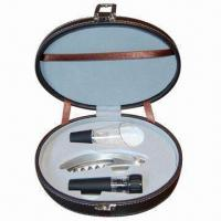 Buy cheap 3-piece Wine Bottle Opener Gift Set from wholesalers