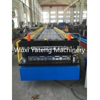 Quality Mental Roof And Wall Corrugated Roll Forming Machine 0.4 - 0.8mm Thickness wholesale