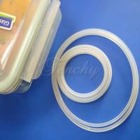 Best Pure Airtight Box Silicone Gasket Silicone Sealing Ring With Customized Design wholesale