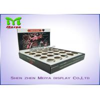 Best Pen / Lipstick Counter Top Display Stands Shrink Exhibition Room B-Flute One Tiers wholesale
