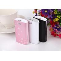 Best Black IPhone 4S / 4 Portable Power Bank 4400 mah , Li-Polymer Micro USB Power Suppply wholesale