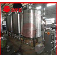 Best 500L Semi-Automatic Cip Cleaning System For Beer Brewery Equipment wholesale