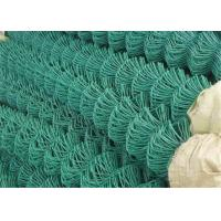 Best Green Flat Wire Mesh , 2x2 Chain Link Fence Mesh For Building Material wholesale