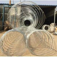 Best BTO-22 Galvanized Razor Barbed Wire for Protection Military Security Fence wholesale