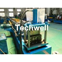 Best Round Gutter Roll Forming Machine With PPGI Aluminum Forming Material , 0-15m/min wholesale