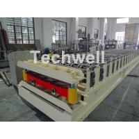 Best Wall Cladding Roof Roll Forming Machine , Metal Forming Equipment Yield Strength 250-350Mpa wholesale