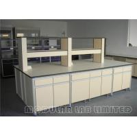 Cheap Durable Plastic Laminate PP Laboratory Work Benches Resistance To Corrosion for sale