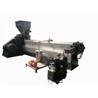 Best Electrical Control System Plastic Recycling Extruder With Granule Cutting Machine wholesale