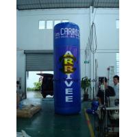 Best Oxford 4m Advertising Helium Balloons Custom Inflatable Pillar For Trade Show wholesale