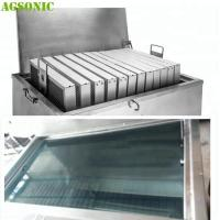 China Food industry Cleaning Machine for Oven Tray Pizza Pan with Ultrasonic and Heating System on sale
