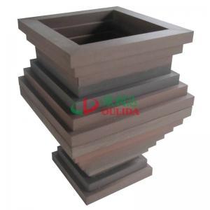 Best High Density Composite Diy Planter Box , Fading Resistance Deck Garden Planters 700 X 700 X 896mm wholesale