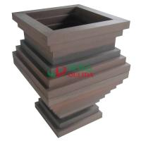 Best High Density Composite Diy Planter Box , Fading Resistance Deck Garden Planters 700 X 700 X 896mm wholesale