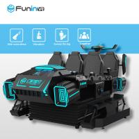 Best 9D Virtual Reality Cinema VR Shooting Games 6 Seats Car Simulator With CE Verified wholesale