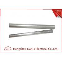 Best 1 2 Inch Steel EMT Electrical Conduit / Metal Conduit Pipe With 3.05 Meters , ISO9001 Listed wholesale