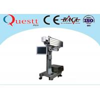 Quality 30W Flying Laser Marking Machine For Bottles on Conveyor Automation Line wholesale