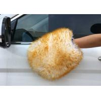 Best Sheepskin Car Wash Mitt Lambs Wool Car Wash Mitt Genuine Merino Sheepskin wholesale