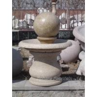 Yellow Granite Sphere Fountain