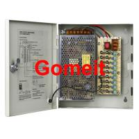 Best 9 Channel Camera Power Supply 12vdc , High Efficiency CCTV Camera Dc Power Supply wholesale