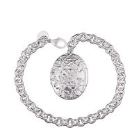 Best China Supplier Wholesale 925 Silver Plated Charms Bracelet 2014 For Women wholesale