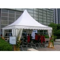 10 10 Canvas Canopy : Details of men waterproof canvas pagoda party tent