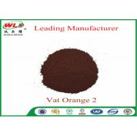 Best C I Vat Orange 2 Vat Golden Orange 2RT Dye Powder For Cotton Fabric wholesale